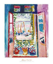 Open Window, Collioure, 1905 poster print by Henri Matisse