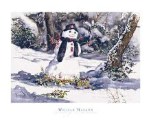 Frosty's Friend poster print by William Mangum