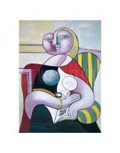 La Lecture (Woman Reading) poster print by Pablo Picasso