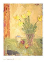 Yellow Tulips poster print