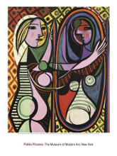 Girl Before a Mirror poster print by Pablo Picasso