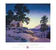 Evening (Winterscape) poster print by  Parrish