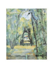 Avenue At Chantilly, 1888 poster print by Paul Cezanne