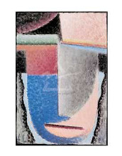 Abstract Head, 1929 poster print by  Jawlensky