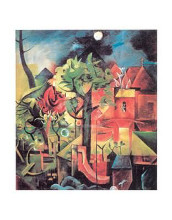 Spring, 1918-19 poster print by Max Ernst