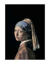Girl With A Pearl Earring poster print by Jan Vermeer