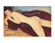 Reclining Nude From The Back, 1917 poster print by Amedeo Modigliani