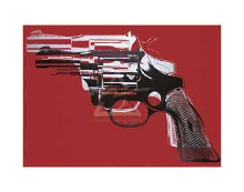 Guns, C 1981-82 (Large formats) poster print by Andy Warhol