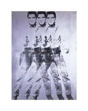 Elvis, 1963 (Triple Elvis) poster print by Andy Warhol
