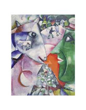 I And The Village, 1911 poster print by Marc Chagall