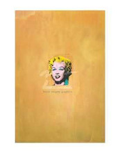 Gold Marilyn Monroe, 1962 poster print by Andy Warhol