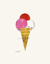 Ice Cream Dessert, C 1959 (Red, Pink An poster print by Andy Warhol