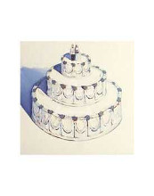 Wedding Cake, 1962 poster print by  Thiebaud