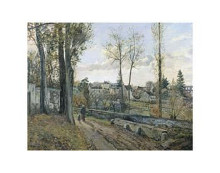Louveciennes, 1871 poster print by  Pissarro