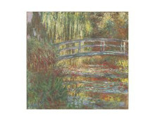Water Lily Pond, 1900 poster print by Claude Monet