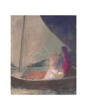 Barque, C 1902 poster print by  Redon