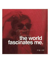 World Fascinates Me poster print by Andy Warhol