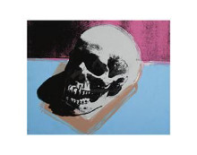 Skull, 1976 poster print by Andy Warhol