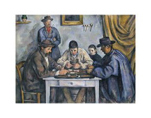 Card Players, 1890-1892 poster print