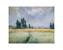 Wheatfield, 1881 poster print by Claude Monet