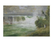 Niagra Falls, 1885 poster print by  Inness