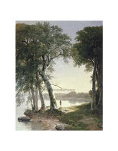 Early Morning At Cold Spring, 1850 poster print by  Durand