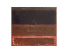 Four Darks In Red, 1958 poster print by Mark Rothko