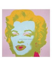 Marilyn Monroe (Marilyn), 1967 (Pale Pin poster print by Andy Warhol