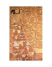 Expectation poster print by Gustav Klimt