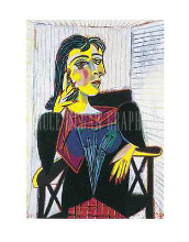 Dora Maar Seated poster print by Pablo Picasso