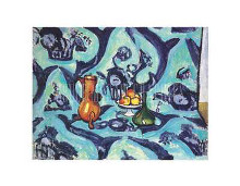 Still Life with Tablecloth poster print by Henri Matisse