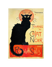 Tournee Du Chat Noir poster print by Theophile-Alexandre Steinlen