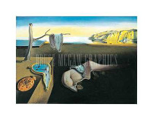 Persistence of Memory poster print by Salvador Dali