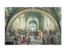 School Of Athens poster print by  Raphael