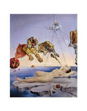 Sting Caused By The Flight Of A Bee poster print by Salvador Dali