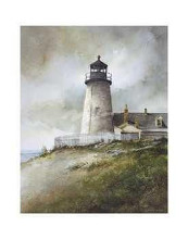 Pemaquid poster print by Ray Hendershot