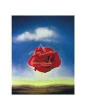 Rose, 1958 poster print by Salvador Dali