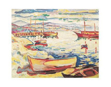 Port of L'estaque, 1906 poster print by Georges Braque