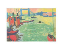 Thames and Tower Bridge, 1906 poster print by  Derain