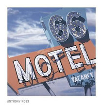 66 Motel poster print by  Ross