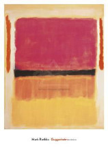 Untitled (Violet, Black, Orange, Yellow poster print by Mark Rothko