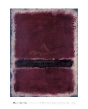 Untitled, 1963 poster print by Mark Rothko