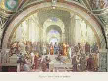 School Of Athens poster print
