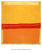 Number 5 (Number 22) poster print by Mark Rothko