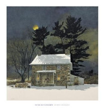 Moon Shadows poster print by Michael Sculthorpe