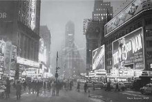 Times Square, 1949 poster print by  Unknown