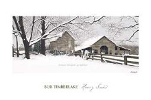 Heavy Snow poster print by  Timberlake