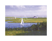 Sailing Home poster print by  Vokey