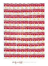 One Hundred Cans, 1962 poster print by Andy Warhol