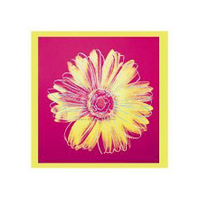 Daisy, C1982 (Fuchsia And Yellow) poster print by Andy Warhol